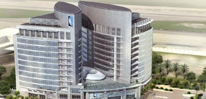 Abu Dhabi Islamic Bank Tower (Base Build + 17 Stories x 2)