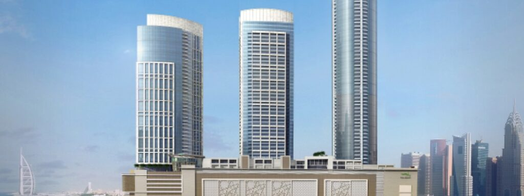 The Palm Jumeirah Gateway Towers – LEED Silver